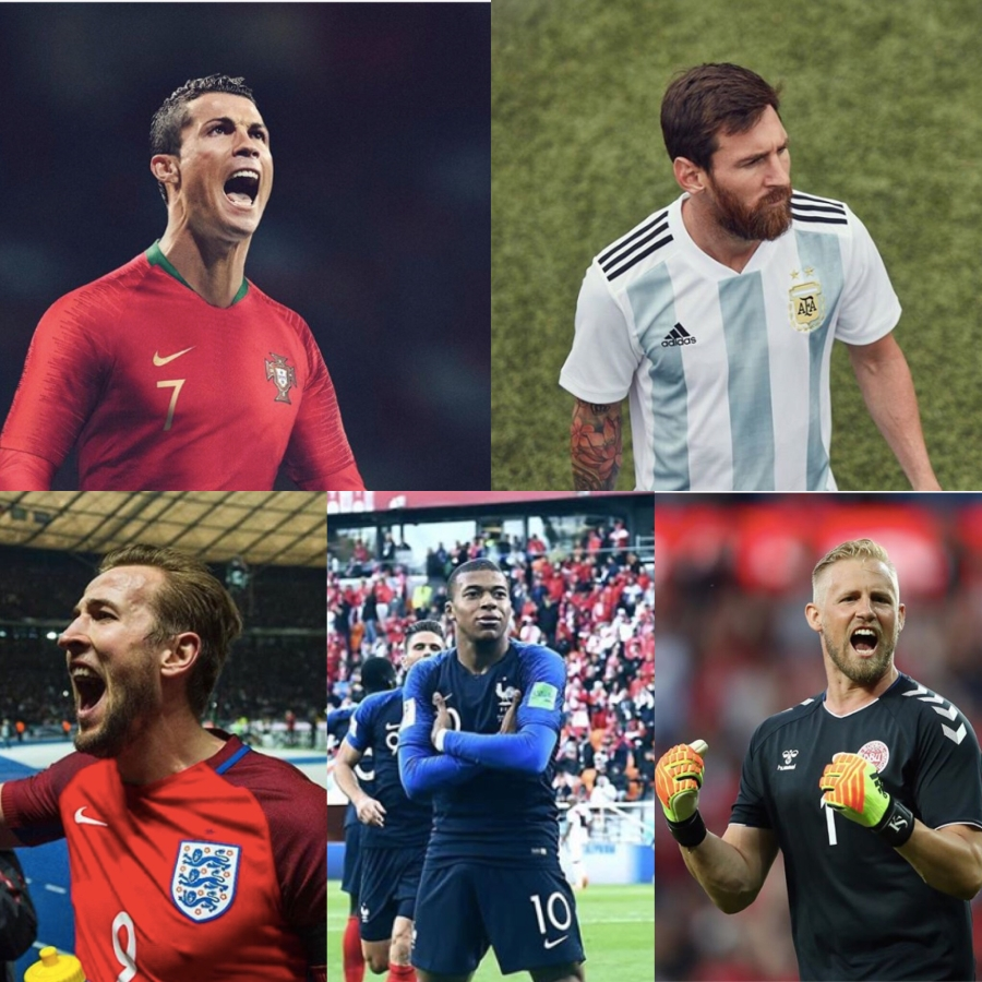 World Cup's charitable stars
