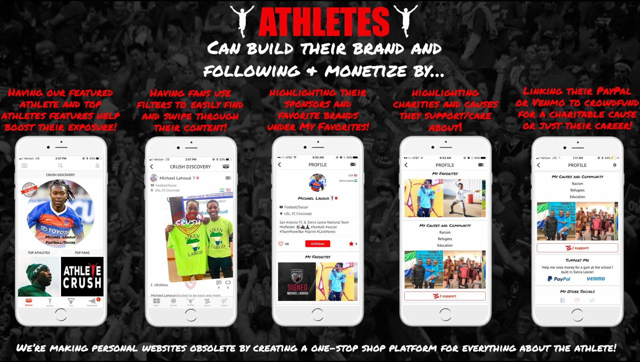 Athletes - small