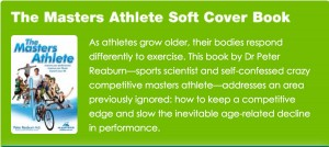 For healthy aging recovery, consider this book, The Masters Athlete book