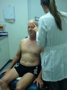 dermatologist, health screen, skin cancer, scientist