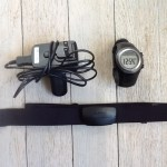 My Garmin 310 running watch, with heart rate monitor. Great piece of gear.