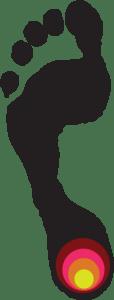 Plantar fasciitis logo by Duncan Morgan