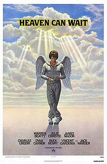 Heaven Can Wait movie poster.
