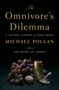 Books to save the animals. The Omnivore's Dilemma book recommended by FitOldDog