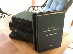 Photo of FitOldDog's PhD thesis and his publications.
