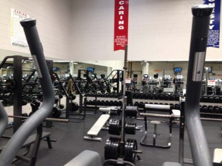Got to love the weight room.