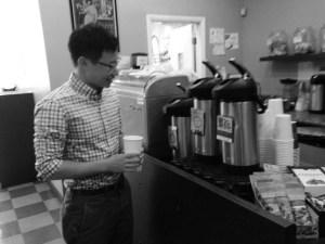 Choosing coffee
