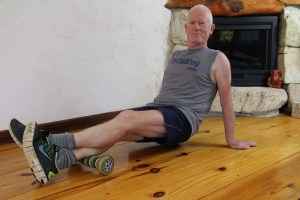 I fixed my plantar fasciitis with a roller