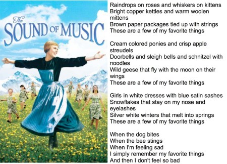 sound of music cover with lyric