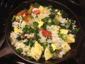 FitOldDog's plant-based vegan breakfast.