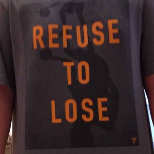 Refuse to lose tee