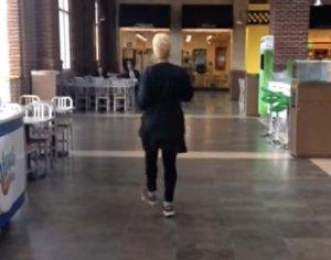 aging mobility, walk like Loretta