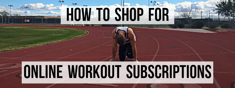 Image for online workout subscription article.