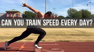 image for article Can you do speed training everyday?