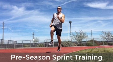 pre season sprint training