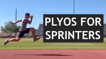 plyometric training for sprinters
