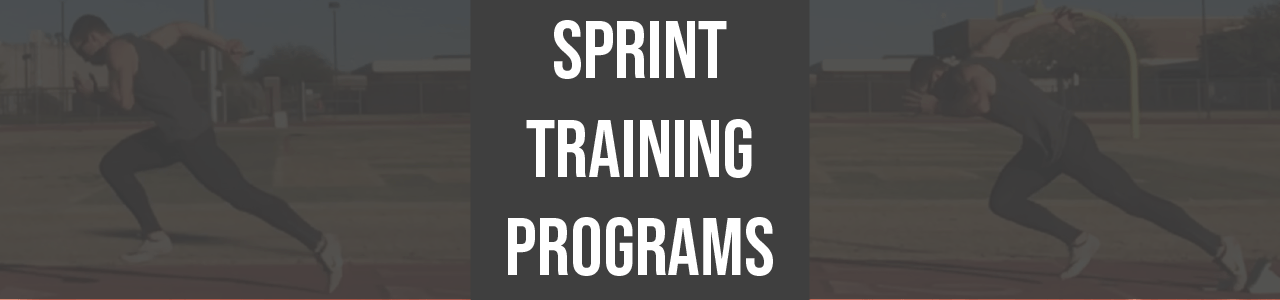 sprint training programs
