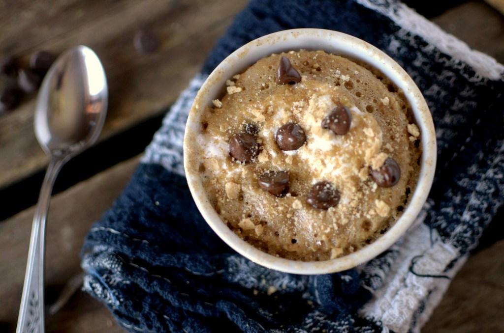 Chocolate Maple Syrup Mug Cake Oat Flour