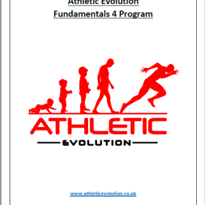 Athletic Evolution Fundamentals 4 Youth Strength and Conditioning Program