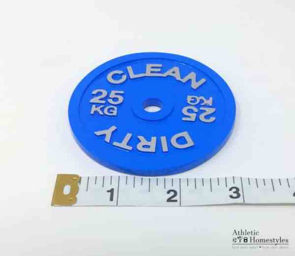 Barbell Plate Clean Dirty Dishwasher Magnet