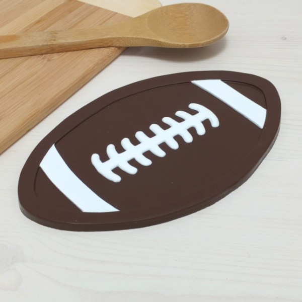 Football Trivet CFL NFL Grey Cup Stanley Sports Kitchen Decor