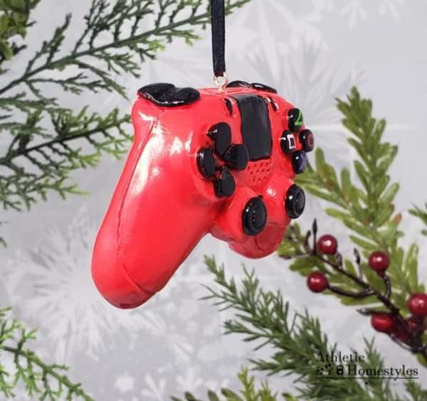PS4 Playstation 4 Video Game Controller Christmas Ornament Decoration Nerd Gift Present Geek