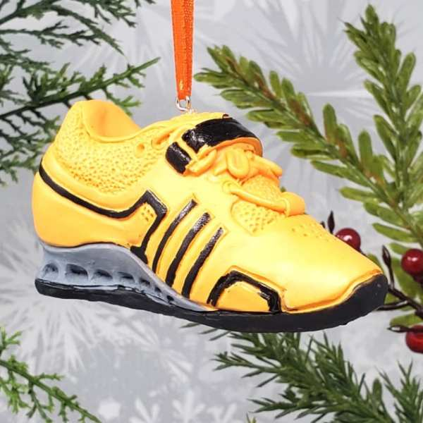 Adidas Adipower Weightlifting Powerlifting Squat Shoe Strength Sports Equipment Decoration Athlete Gift