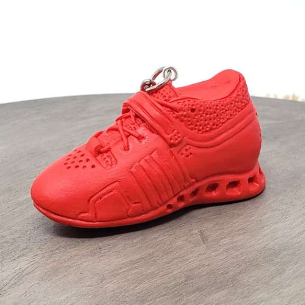 Weightlifting Powerlifting Squat Shoe Adidas Adipower Keychain Gym Bag Accessory Fitness Charm