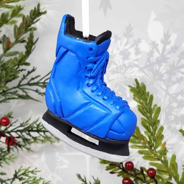 Hockey Skate Christmas Ornament Winter Sports NHL Fan Team Gift Stocking Stuffer
