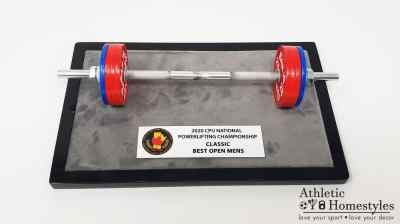 CPU 2020 National Powerlifting and Bench Press Championship Trophy