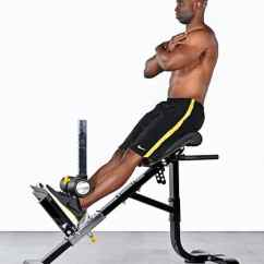 Gym Quality Roman Chair Bar Stool Best To Build Wash Board Abs Athletic Muscle