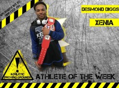 Desmond Diggs, Xenia High School