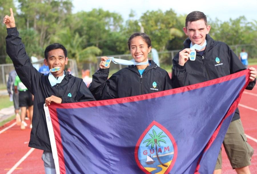 Genina Criss Guam medal.jpg