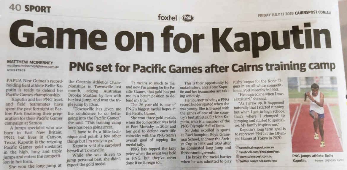 Cairns Post Rellie 2 copy
