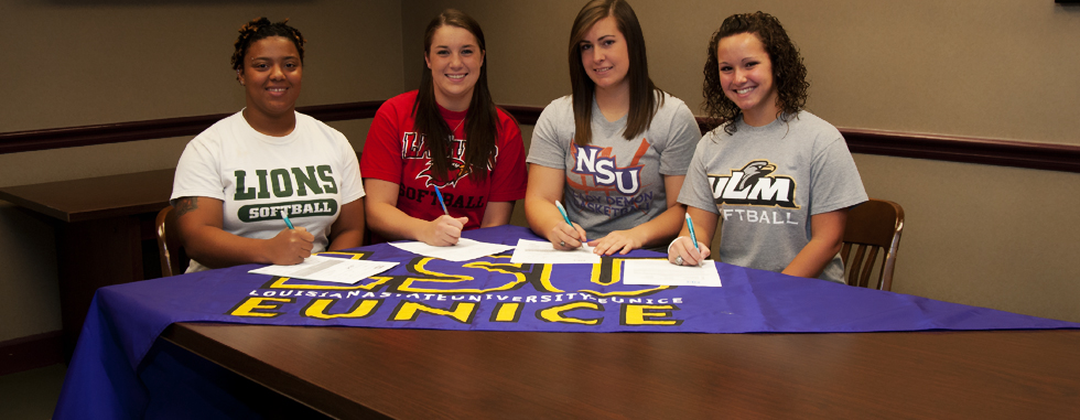 Eight Lady Bengals Sign NCAA Letter of Intents - Louisiana State ...