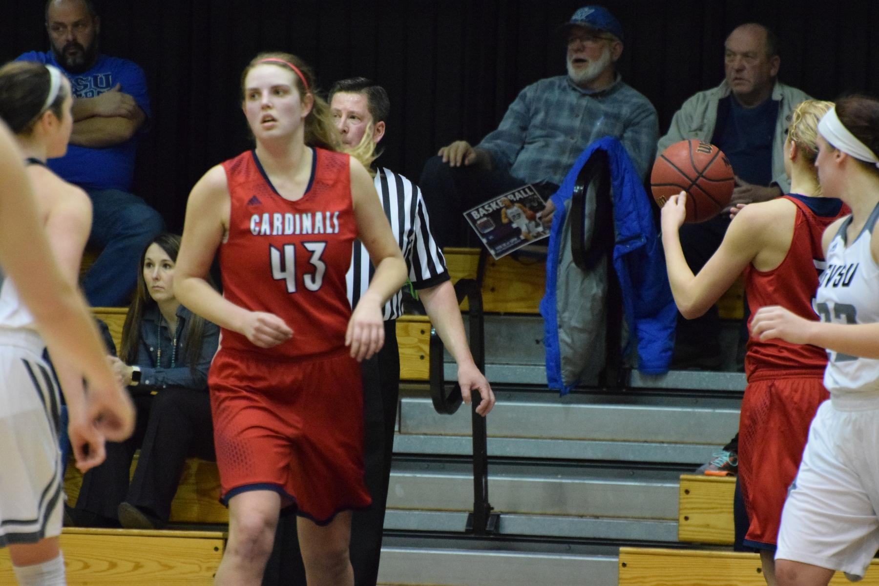Women's Basketball at Grand Valley - February 18. 2016 - Saginaw Valley State