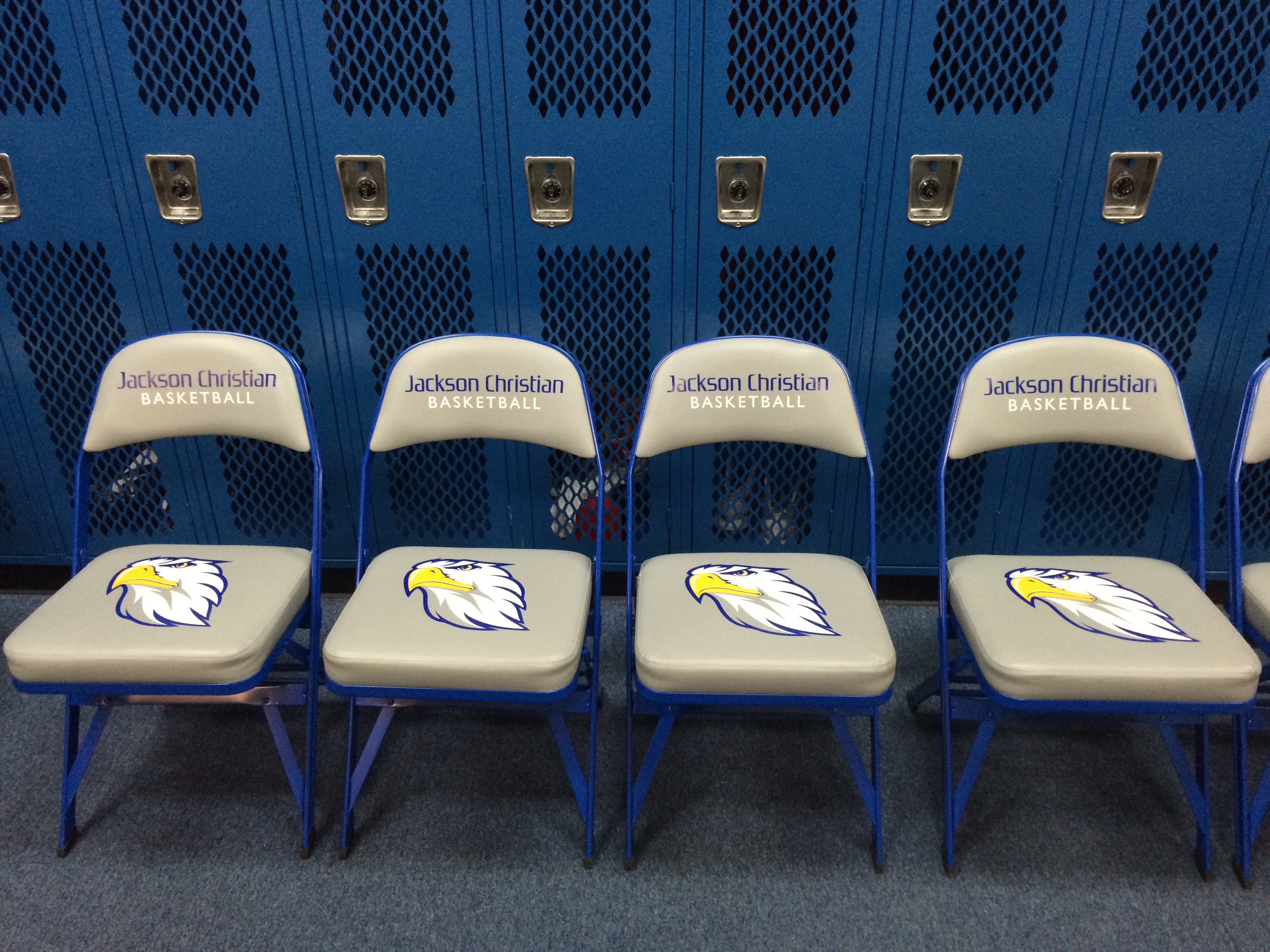 Basketball Chairs Athletic Logo Folding Basketball Chairs Athletic Seating