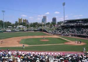 Raley Field in Sacramento - home of the Sacramento River Cats