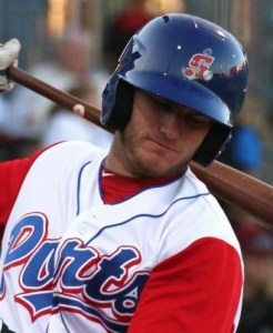 Stockton Ports First Baseman Max Muncy (Grand Slam)