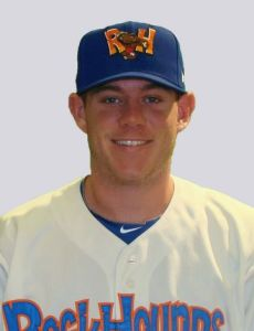 Midland RockHounds Pitcher Murphy Smith (7 IP / 8 H / 1 ER / 1 BB / 5 K / Win)