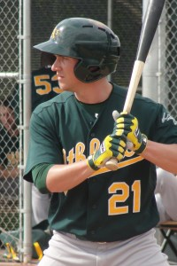 Outfielder Chad Oberacker -