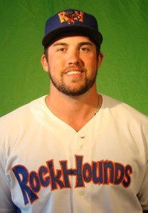 Midland RockHounds Outfielder Josh Whitaker (2 Home Runs)