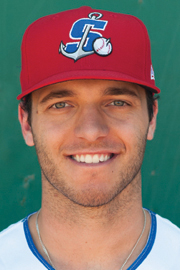 A's Prospect Of The Day: Stockton Ports Outfielder Brett Siddall (2 for 6 / Home Run)