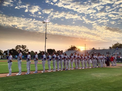The Ports pre-game in Modesto (photo by Meghan Camino)