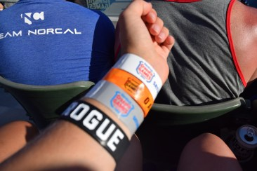 Wristband game strong.