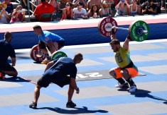 Mat Fraser | Speed Snatch Ladder - Men