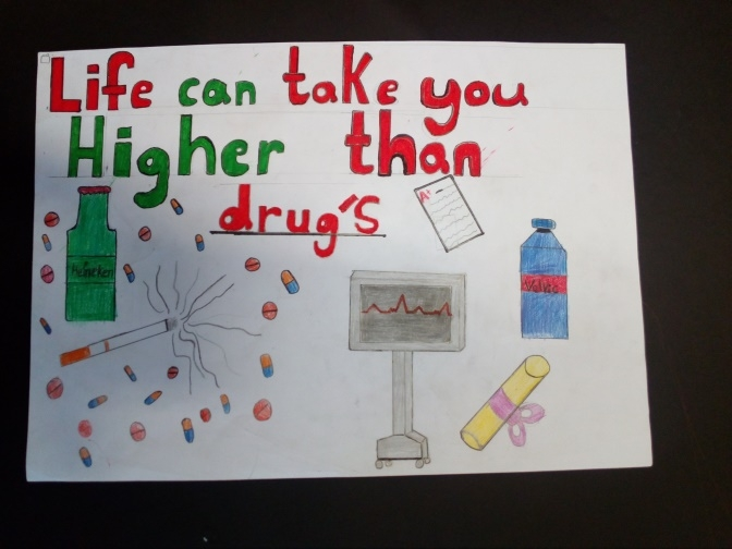 athlone drug awareness poster competition
