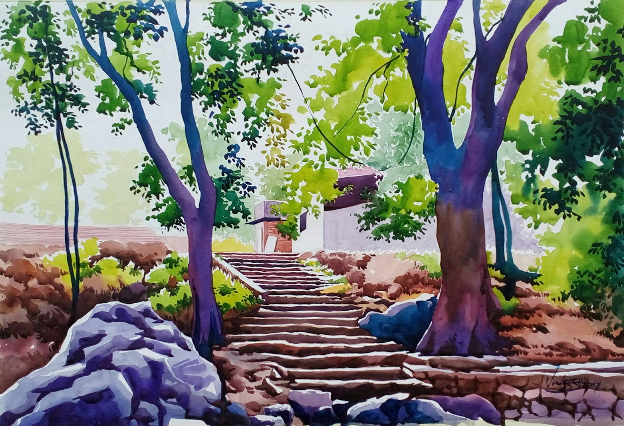 Artist Vineesh Mudrika