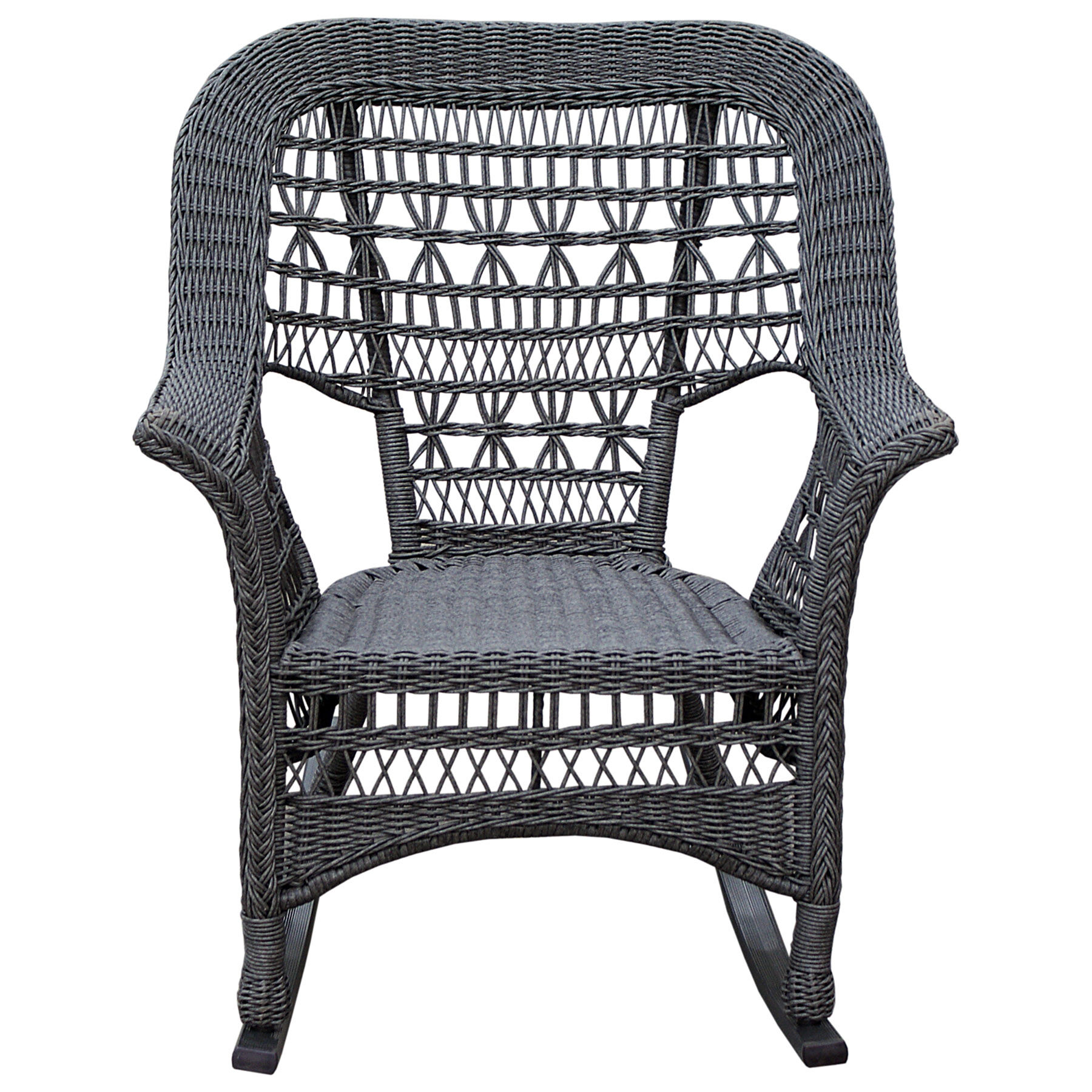 Black Wicker Rocking Chairs Wicker Rocking Chair Grey At Home
