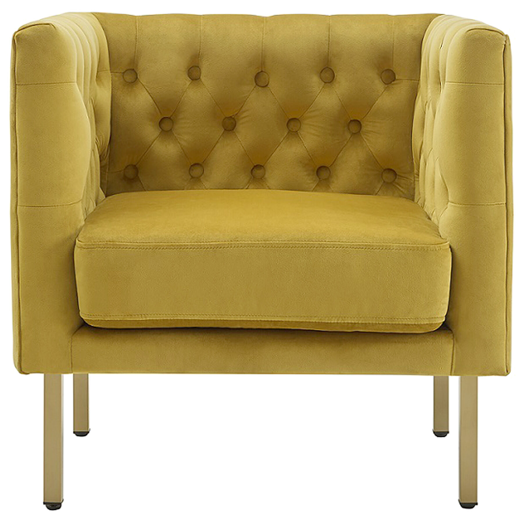 Yellow Side Chair Bendell Yellow Accent Chair At Home
